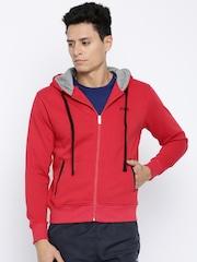 FILA Red Hooded Sweatshirt