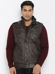 Fort Collins Brown Detachable Hood Jacket