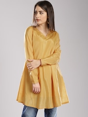 Fabindia Mustard Yellow Tunic