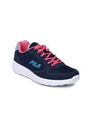 FILA Women Navy Elvey Lite Running Shoes