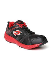 Lotto Men Black ELEVATE Running Shoes