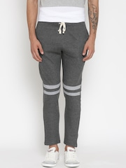 Hubberholme Charcoal Grey Structured Fit Track Pants