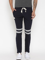 Hubberholme Navy Structured Fit Track Pants