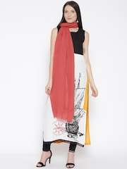W Coral Red Stole