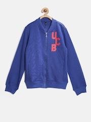 United Colors of Benetton Boys Blue Sweatshirt