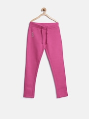 United Colors of Benetton Girls Pink Track Pants