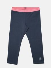 United Colors of Benetton Girls Navy Leggings