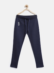 United Colors of Benetton Girls Navy Track Pants