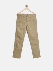 United Colors of Benetton Boys Beige Trousers