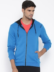 Reebok Blue CORE HDY Hooded Training Sweatshirt