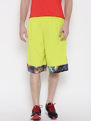 Reebok Classic Men Lime Green Pump BBALL Sports Shorts
