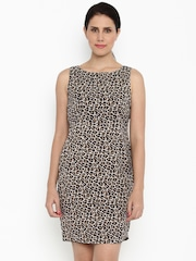 Van Heusen Woman Women Black Printed Sheath Dress