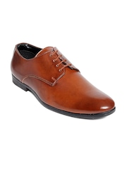 bacca bucci Men Tan Brown Formal Shoes