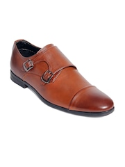 bacca bucci Men Tan Brown Monks
