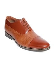 bacca bucci Men Tan Brown Formal Shoes
