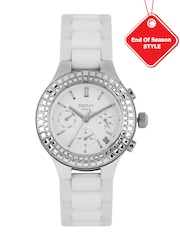 DKNY Women White Multifunction Analogue Watch NY2223