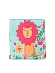 Chumbak Women Blue & Pink Printed Wallet