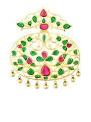 ahilya Gold-Plated Silver Pendant