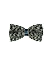 The Tie Hub Grey Woollen Bow Tie