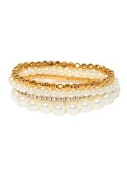 Tipsyfly Pearls Du Jour Set of 4 Bracelets