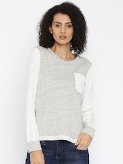 Tommy Hilfiger Grey Melange Sweatshirt