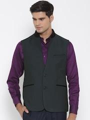 Van Heusen Charcoal Grey Waistcoat