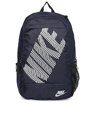 Nike Unisex Navy Printed Classic Line Backpack