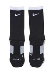 Nike Unisex Black & Grey Stadium Football Crew Above Ankle-Length Soccer Socks
