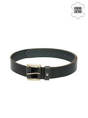 Tommy Hilfiger Men Grey Genuine Leather Belt