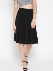 FOREVER 21 Black Pleated Skirt