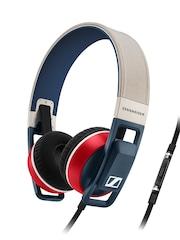 Sennheiser Beige & Blue Urbanite Nation I Headphones with Mic