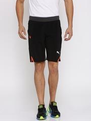 PUMA Men Black Solid Regular Fit Dry CELL Sports Shorts