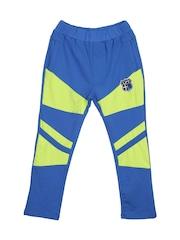 Lilliput Boys Blue & Green Track Pants 110001640