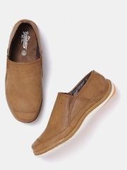 Roadster Men Tan Brown Solid Loafers