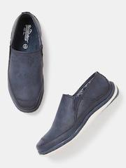 Roadster Men Navy Blue Solid Regular Loafers