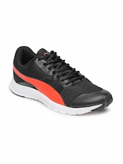 Puma Men Black Flexracer IDP Running Shoes