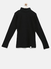 Palm Tree by Gini & Jony Boys Black Sweater