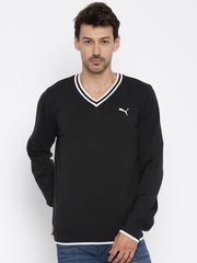 Puma Men Black Solid Sweater