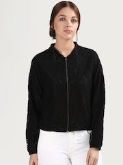 COVER STORY Black Lace Jacket