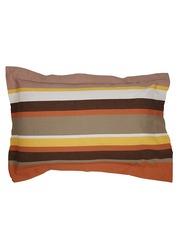 MASPAR Multicoloured Striped 20 x 30 Rectangular Pillow Cover
