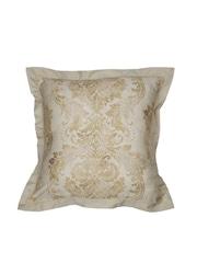 MASPAR Beige Single Printed 26 x 26 Square Pillow Cover