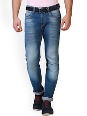 Allen Solly Men Blue Slim Fit Low-Rise Clean Look Jeans