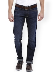 Allen Solly Men Blue Low-Rise Clean Look Jeans