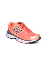 New Balance Women Neon Orange W680LD3 Running Shoes