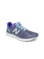 New Balance Women Green & Navy WX77AM Training Shoes