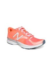 New Balance Women Orange WX88DW Training Shoes