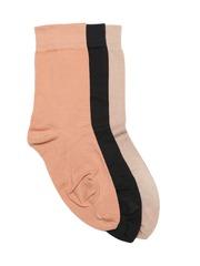 DressBerry Women Pack of 3 Above Ankle-Length Socks