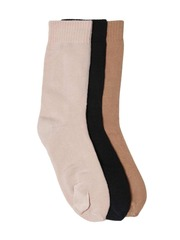 DressBerry Women Set of 3 Above Ankle-Length Tabi Socks