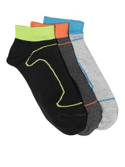 DressBerry Women Set of 3 Ankle-Length Socks