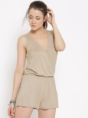 FOREVER 21 Taupe Playsuit